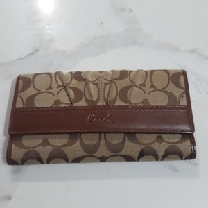 Brown Coach Wallet